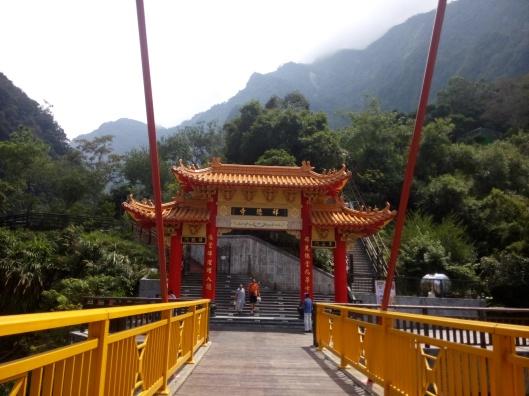Taroko-Schlucht Hsiang-Te Temple