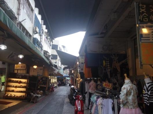 street market, hualien