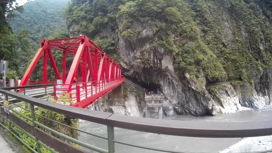 bridge at Eternal Shrine (Changchun Shrine), Taroko, Taiwan