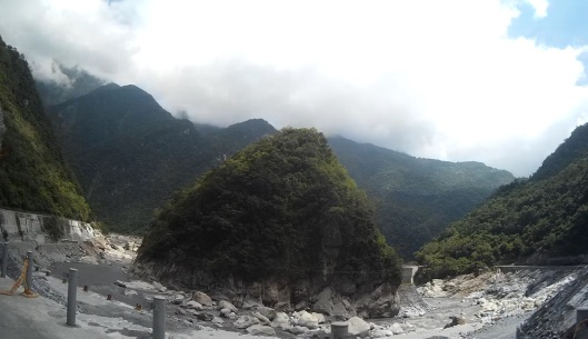 view at Taroko gorge